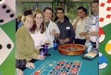 Group Playing Roulette in Queens, NY